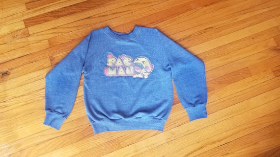 Vintage 90's Youth Medium Pac-Man sweatshirt for b