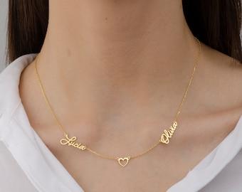 Custom \u201cKlassic\u201d Baby  Children\u2019s Name Necklace