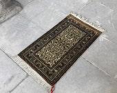 vintage door mat, small rug, oshak vintage rugs, kilim rug, turkish area rug, moroccan rug, colorful rug, hooked rug, afghan blanket