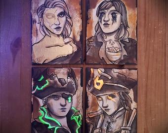Custom CURSED Pirate Portrait - Sea of Thieves Inspired