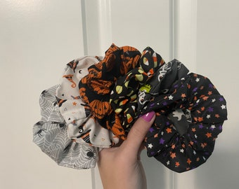 halloween scrunchies
