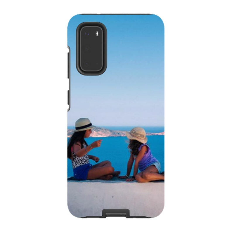 Personalized Galaxy Case Photo on an Samsung Galaxy Case Tough Case Gloss Finish