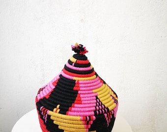 Moroccan big basket, natural, storage, berber handmade