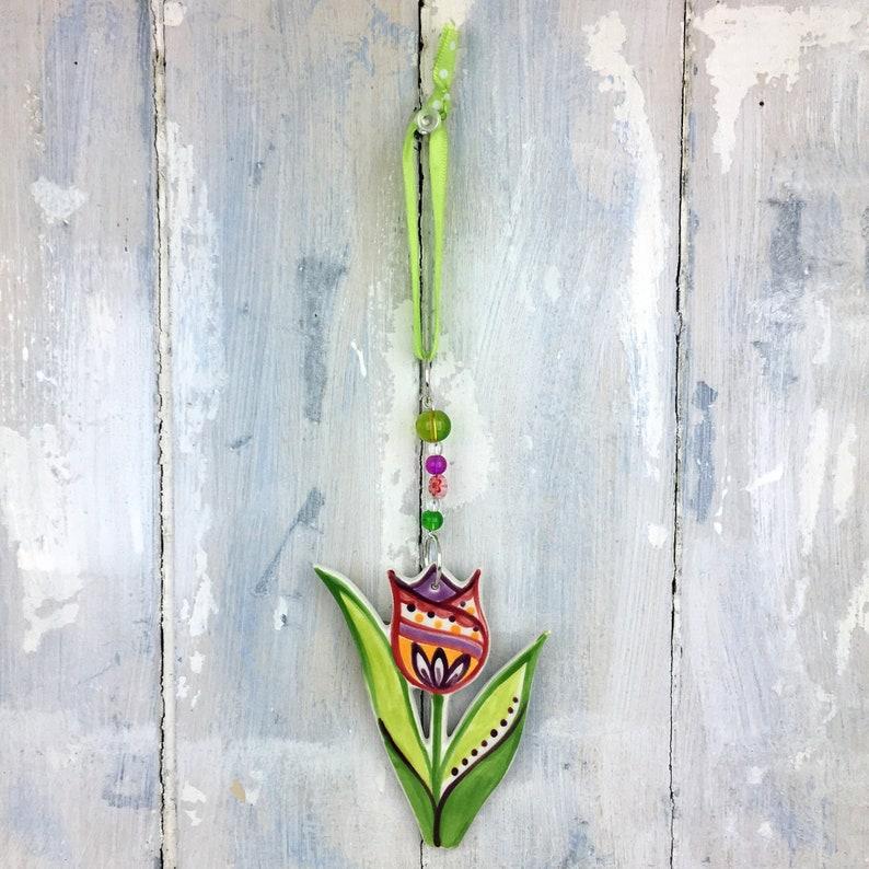 Multi-colour Tulip Decoration