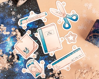 Stars & Stationery: Japan Inspired Stickers