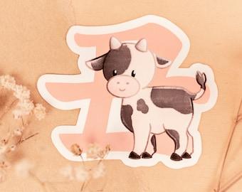 Year of the Cow 2021: Kawaii Ushi Sticker