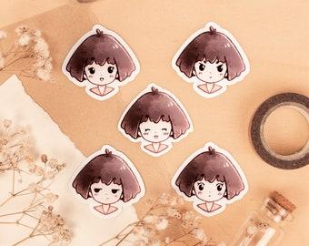 Chibi Emotes: Cute Anime Sticker Set