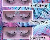 Magnetic Lashes - w Liquid Eyeliner