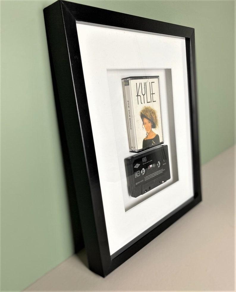 Framed Vintage Cassette Print Original Music Lover Art Pop Princess Music Kylie Minogue Kylie Album Cassette Art Pop Music Print