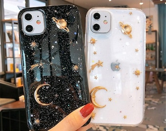 iphone 6 6s 7 8 Plus X Xr Xs Xsm 11 Pro Max case Flexible Silicone Protective Cover\u00a0 Midnight Moon Movie Clear Original Phone Case