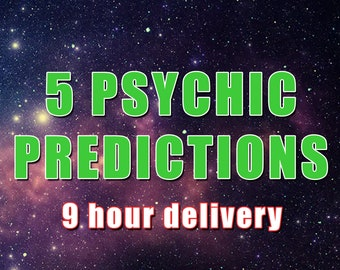 5 Psychic Predictions