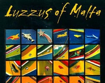 Luzzus of Malta. Professionally printed poster, ready for mounting / framing / hanging.