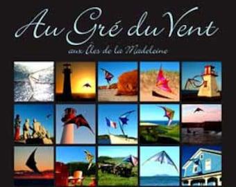 Au Gré du Vent, aux Îles de la Madeleine. Professionally printed poster, ready for mounting / framing / hanging.
