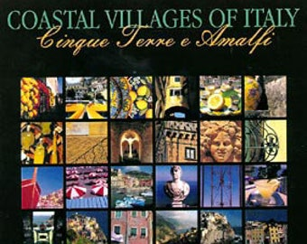Coastal Villages of Italy. Photos of Cinque Terre and Amalfe. Professionally printed poster, ready for mounting / framing / hanging.