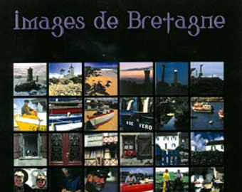Images de Bretagne. Poster of the French region of Brittany (Bretagne). Professionally printed and ready for mounting / framing / hanging.