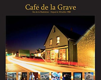 Café de la Grave. Professionally printed poster, ready for mounting / framing / hanging.