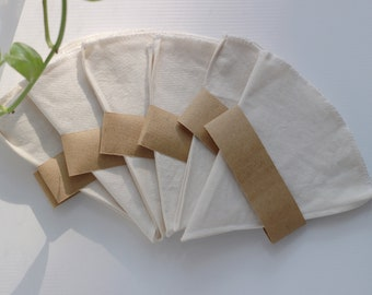 Pour Over Drip Coffee Filter | Organic Cotton