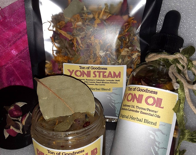 Yoni Steam Herbal Kit | Yoni Set | Herbal Yoni Products | Herbal Yoni Kit | Feminine Products Kit | Gift Ideas | Yoni Care | Herbal Yoni Set