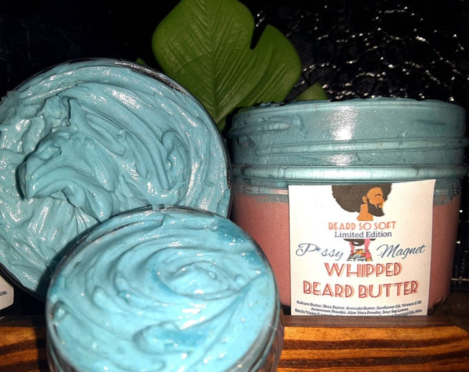 P*ssy Magnet Whipped Beard Butter | Valentine's Day Limited Edition | Beard Care | Beard Maintenance