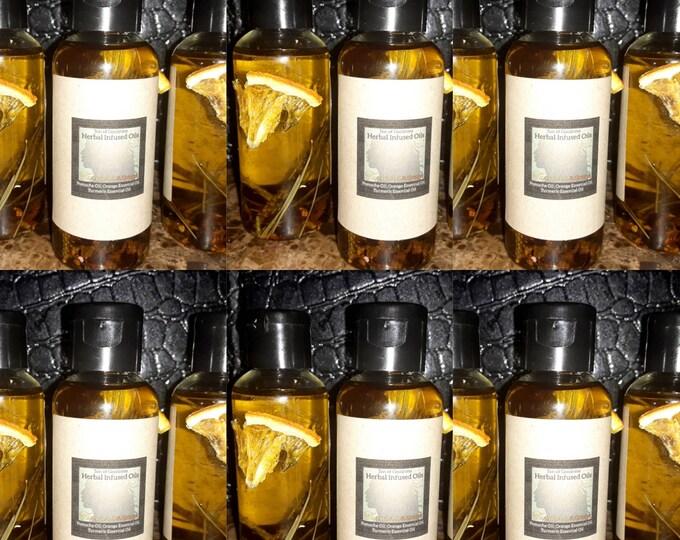 Private Label Turmeric Body Oil | Private Label Herbal Infused Body Oil | Bulk Body Oils |Turmeric & Orange Infused Body Oil |
