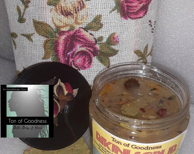 Bikini Scrub | Yoni Scrub | Bikini Sugar Scrub | Shaving Relief | Razor Bump Relief | Yoni Maintenance | Feminine Products