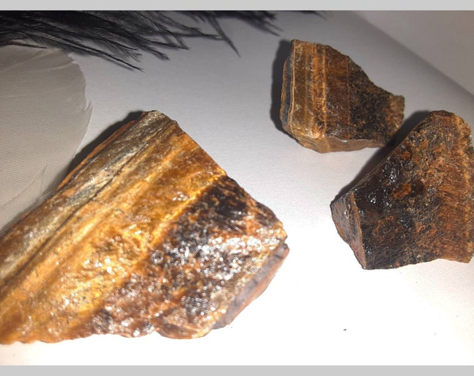 Tiger's Eye Crystal | Protection Crystals | Protection Stones | Tiger Eye | Spiritual Stones | Reiki | Chakra Stones