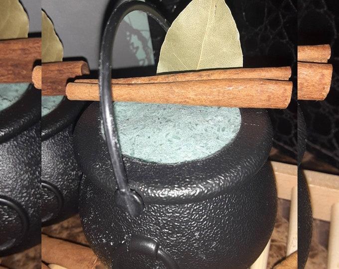 Bulk Money Bath Bomb | Private Label Cauldron Bath Bomb | Intention Bath Bomb | Wholesale Manifestation & Prosperity Bath Bombs
