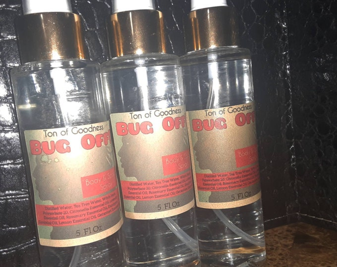 Natural Bug Repellent Spray   BUG OFF! Spray   No Harsh Chemical Bug Spray   Insect Repellent   Bug Repellent   Wholesale   Private Label