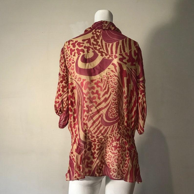 Funky Emanuel Ungaro Silk Blouse