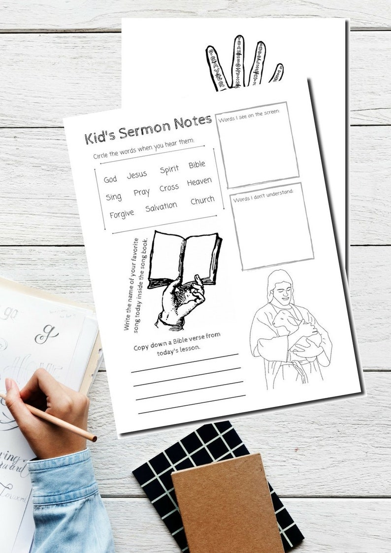 GODLY KIDS Printable Pack 33 pages / image 0