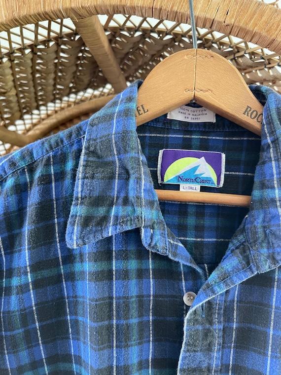Vintage north crest flannel! - image 2