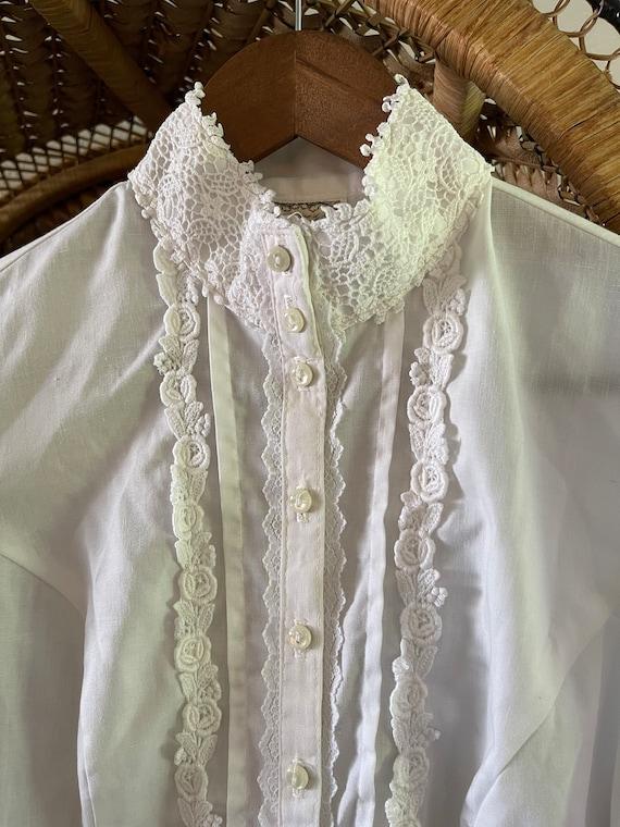 Vintage Gunne Sax prairie blouse! - image 2