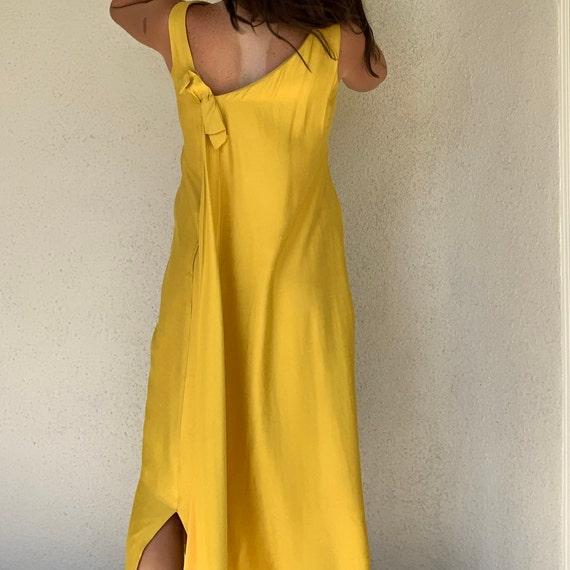 Vintage Raw Silk Dress - image 4