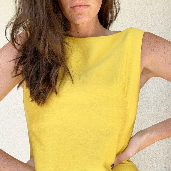 Vintage Raw Silk Dress - image 1