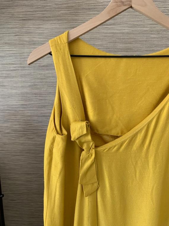 Vintage Raw Silk Dress - image 5