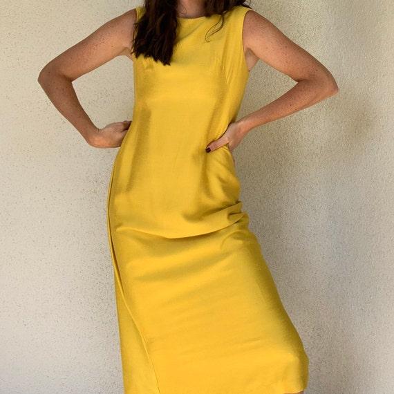 Vintage Raw Silk Dress - image 3