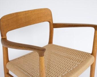 Niels Moller Chair #56 Beech Danish Vintage 50s 60s