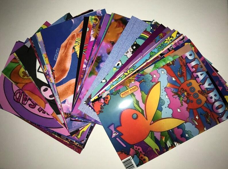 Kidcore Rainbowcore Edgy Aesthetic DIY Wall Collage Kit ...