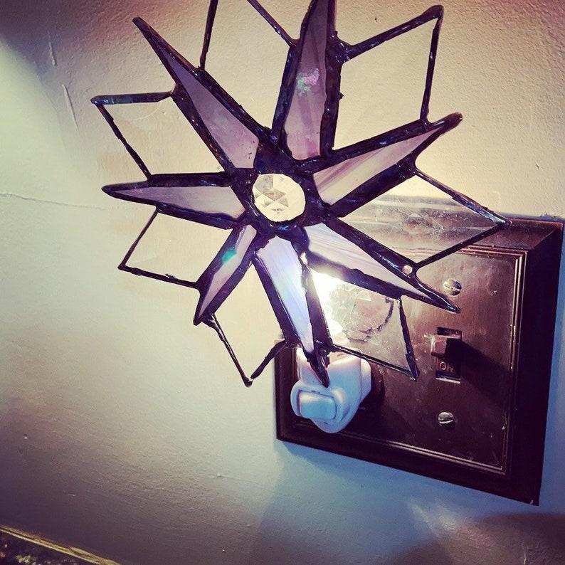 Stained glass custom nightlight