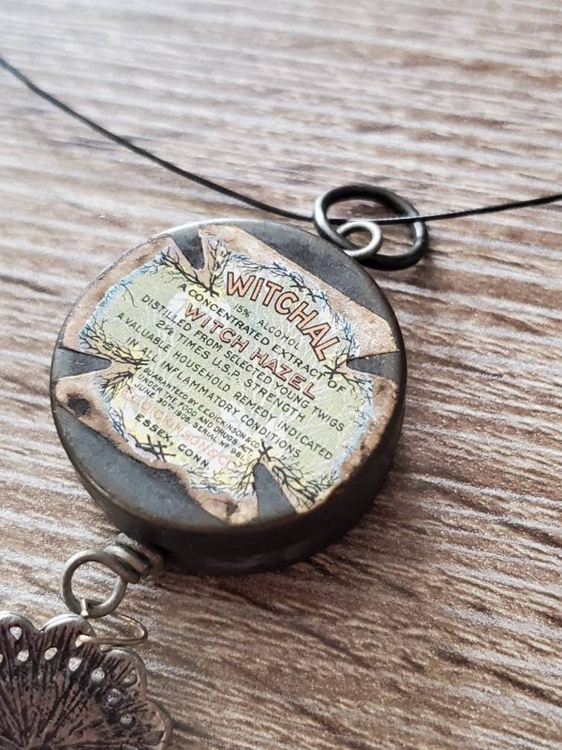 Unique secret storage necklace pendant witchal