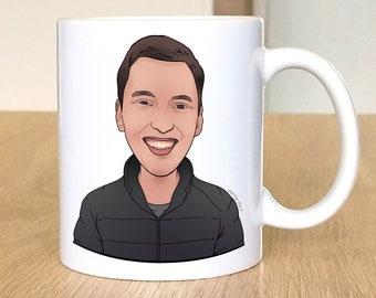 Custom Mug Prints, Christmas Gift, Printing on Mug, Coffe Cup, Best Gift, Sale