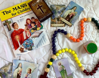 The Mass for Children | Rosary for Kids | Kid Rosary | Rosaries | Child Rosary | Catholic Games | Saint Game | Catholic Game for Kids | Pray