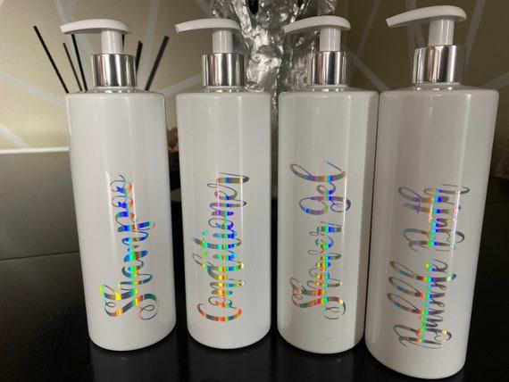 Mrs Hinch Bathroom Soap Dispenser Kitchen White Personalised Pump Bottles