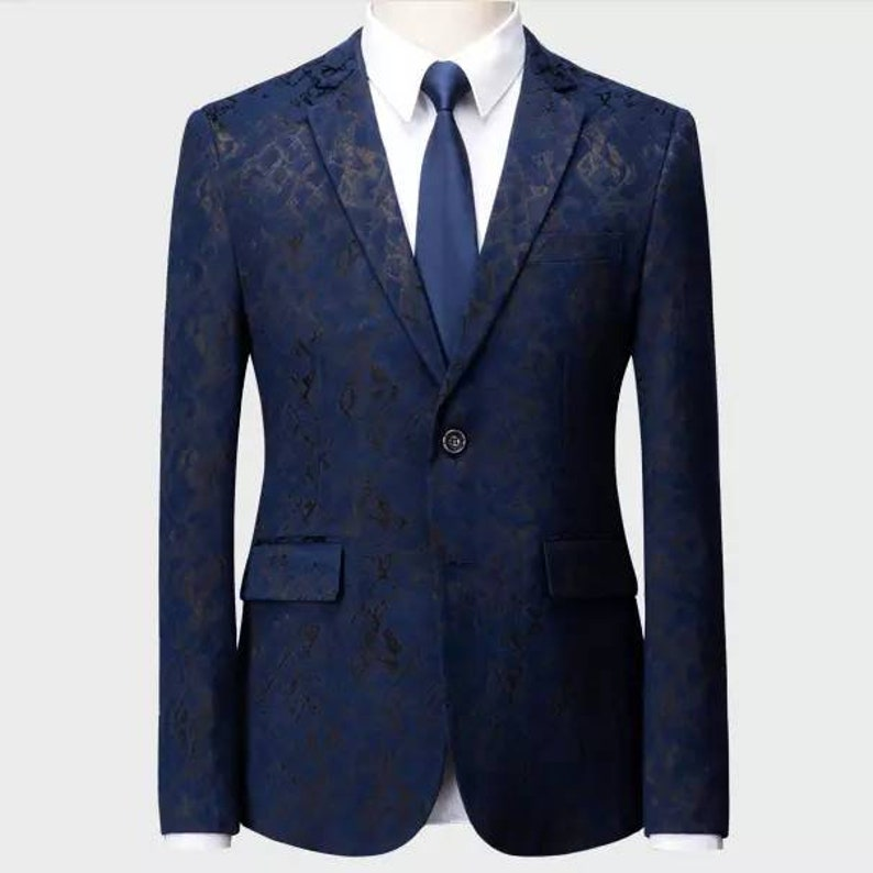 also in dark navy blue groom and groomsmen suits tuxedos suits 3-piece wedding suits with waistcoat Black quilted 3-piece men/'s suits
