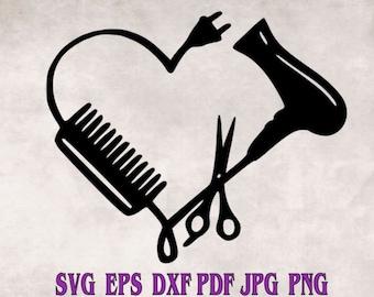 Download Hair Stylist Svg Etsy