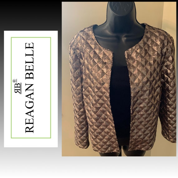 Sequins, woman clothing, thrift, vintage, contempo