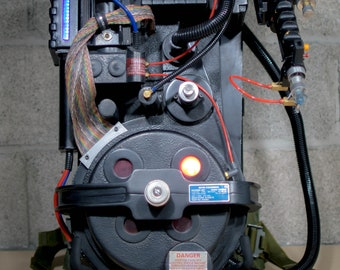 Ghostbusters 2 '89 Proton Pack 1:1 Full Scale w/Sound, Lights, Smoke Etc.