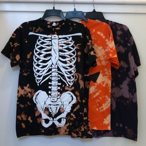 Up-Cycled The Dead Daisies Bleach Dyed T-Shirt