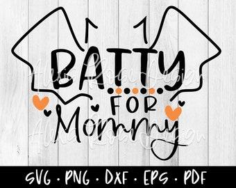 Batty For Daddy Svg Etsy