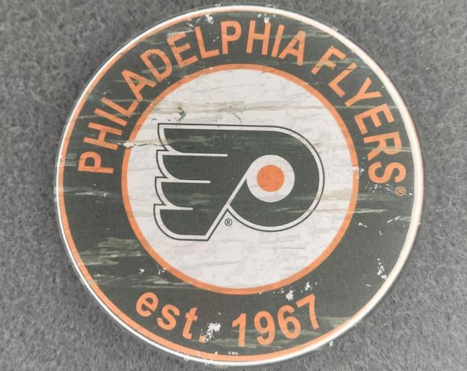 Philadelphia Flyers magnet, Philadelphia Flyers logo magnet, NHL sports team magnet, NHL sport team magnet, NHL travel sport fridge magnets
